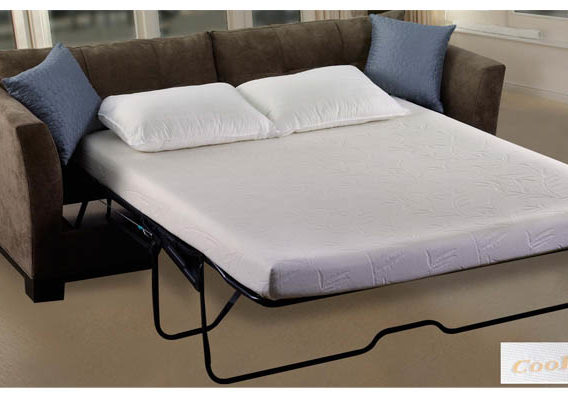 The deluxe coolmax sofa mattress w memory foam sofa bed for Sofa bed 400