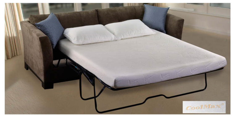 The Deluxe Coolmax 174 Sofa Mattress W Memory Foam Sofa Bed